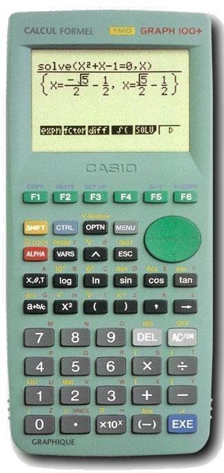 programme calculette casio