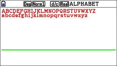Plot/Line-Color sur Fx-CG 10/20