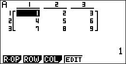 Matrice vers liste Basic Casio 1