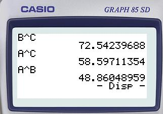 Planète Casio - Cours Casio de maths - Al kashr - rach - Calculatrices