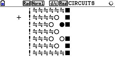 Planète Casio - Jeu Casio - Circuit - disperseur - Calculatrices